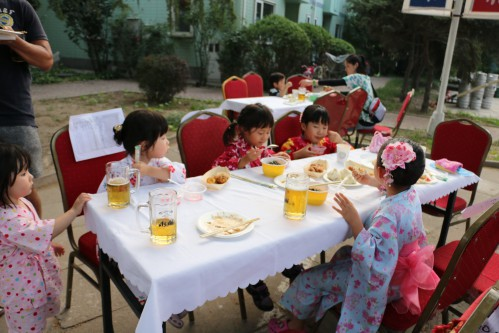 東苑夏祭り