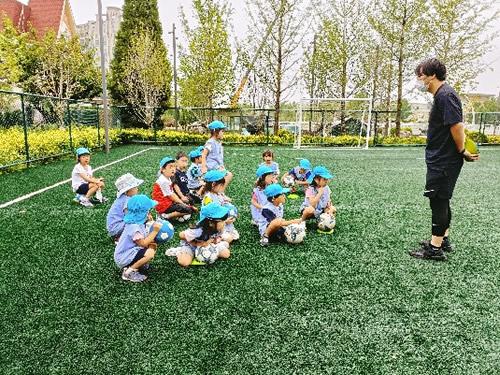 サッカー教室 写真その1